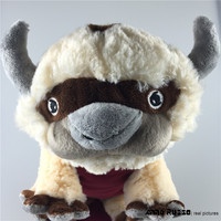 45CM Big Size Anime Kawaii Avatar Last Airbender Appa Plush Toy Soft Juguetes Stuffed Animal Brinquedos Doll Kids Toys
