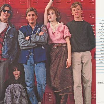 Breakfast Club Movie Cast Poster 24x36