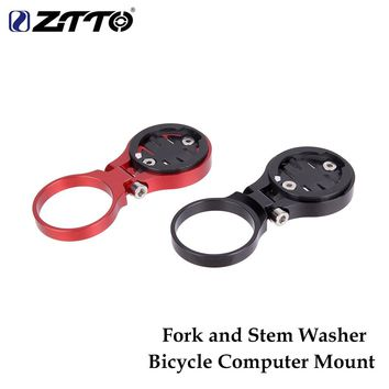 ZTTO MTB  Bicycle Computer Mount Holder  Fixed on Stem Or Fork Road Bike Bicycle Parts For GARMIN For CATEYE For CATEYE
