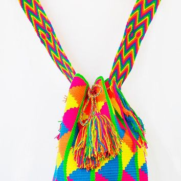 ORCHID LABEL Wayuu Mochila Bag