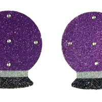 Love and Madness Gypsy Magic Crystal Ball Pasties