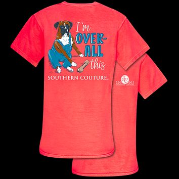 Southern Couture Over-All This Dog Comfort Colors T-Shirt
