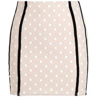 Binding Detail Mini Skirt | Boohoo
