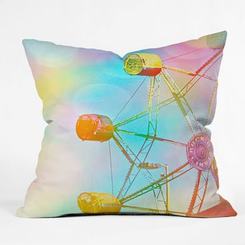 Shannon Clark Spin Throw Pillow