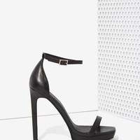 Jeffrey Campbell Strides Heel - Black