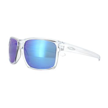 Oakley Sunglasses Sliver OO9262-47 Polished Clear Prizm Sapphire