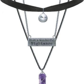 The Nightmare Before Christmas   3 Pc NECKLACE SET