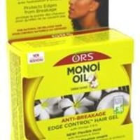 Ors Monoi Oil Edge Control Gel 2.25oz Jar