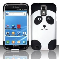 [Buy World] for Samsung Hercules T989 Galaxy S2 (T-mobile) Rubberized Design Cover - Panda Bear