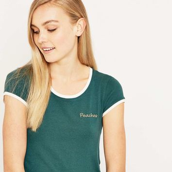 Urban Outfitters Peaches Shrunken Ring T-shirt - Urban Outfitters