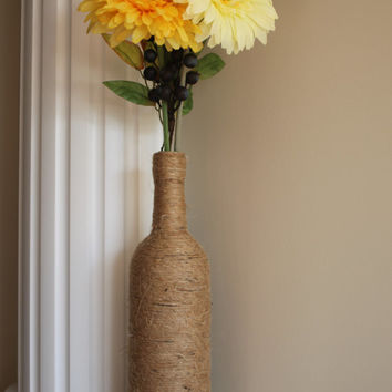 Vase, Rustic Vase, Centerpiece, Wedding decor, Wedding Centerpiece, Farmhouse, Home Accents, Home Decor