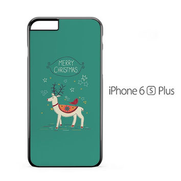 Christmas Rudolph iPhone 6s Plus Case