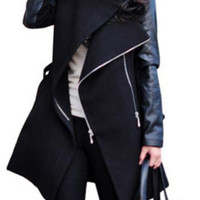Adelaide Water-Fall Trench Coat