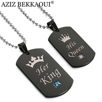 Her King & His Queen Crown Tag Set