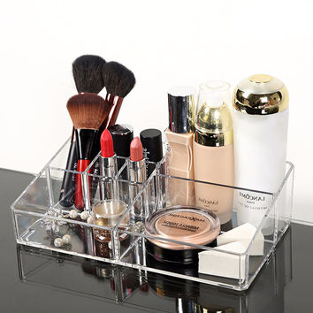 Crystal Clear Cosmetic Makeup Organizer