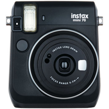 Fujifilm Instax Mini 70 Instant Camera (midnight Black)