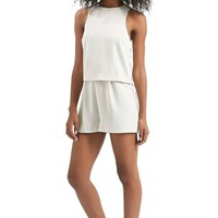 Women's Topshop Lace Up Romper,