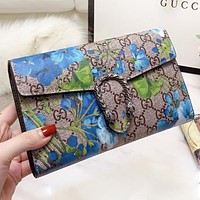 GUCCI & Mickey Mouse New fashion more letter floral mouse strawberry print shoulder bag crossbody bag