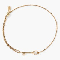 Women's Alex and Ani 'Symbolic - Skeleton Key' Bracelet