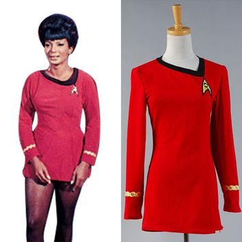 Star Trek The Woman Duty Uniform Dress Costume