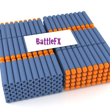 BattleFX Nerf N-Strike Elite Compatible Darts / Bullets, Set of 100