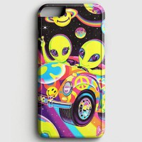 Lisa Frank Neon Tiger And Monkey 90S iPhone 6 Plus/6S Plus Case