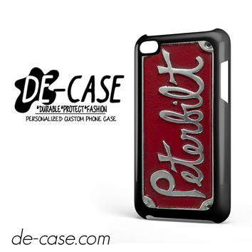 Plate Peterbilt Truck For Ipod 4 Case Phone Case Gift Present