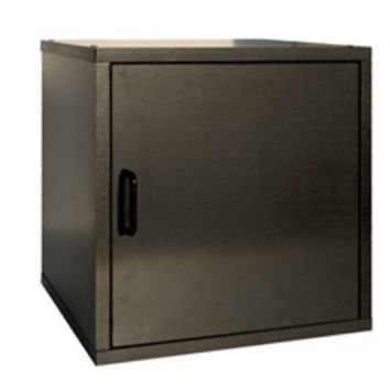 Single Door Storage Cube Black - Dorm room necessity college dorm stuff cheap college products dorm room space saver dorm stuff
