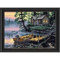 Dimensions Needlecrafts Counted Cross Stitch, Morning Lake