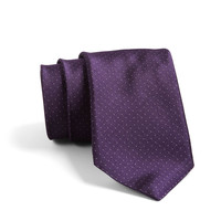 Crosby Pindot Tie In Purple