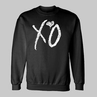 XO THE WEEKND ~ Sweatshirt drake hip hop weekend ovoxo yolo take care ovo