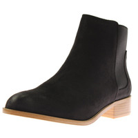 LFL by Lust for Life Womens Acklea Faux Suede Almond Toe Chelsea Boots