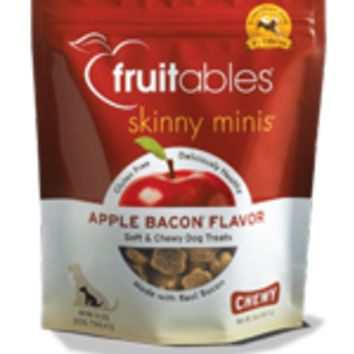Fruitables® Skinny Minis™ Chewy Dog Treats Apple Bacon™  5 oz