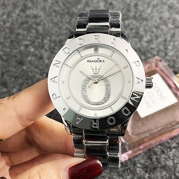 8DESS Pandora Woman Men Fashion Quartz Movement Wristwatch Watch