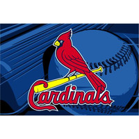 "St. Louis Cardinals MLB Tufted Rug (59x39"")"