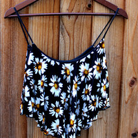 DAISY SUMMER VIBES CROP TOP | Paper Kranes