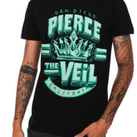 Pierce The Veil Ice Crown Slim-Fit T-Shirt