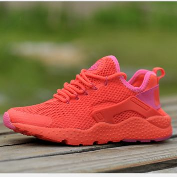 NIKE AIR Huarache Fashion Sport Running Ventilation Sneakers Sport Shoes Red