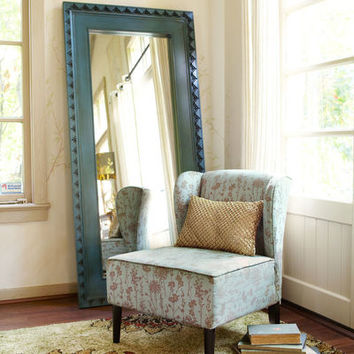 Smoke Blue Floor Mirror$350.00