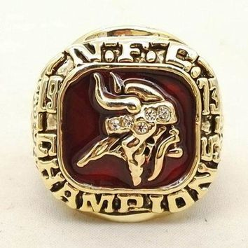 DCCKWA2 SPORTS RING * 1973 MINNESOTA 'VIKINGS' DIVISION * CHAMPIONS/ ...fast delivery