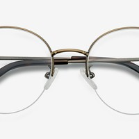 Albee | Bronze Metal Eyeglasses | EyeBuyDirect