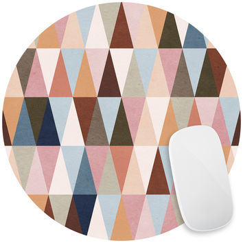 Earth Triangles Mouse Pad Decal