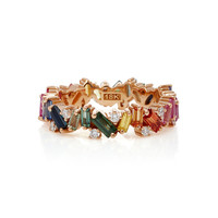 Rainbow Fireworks And Diamond Band | Moda Operandi