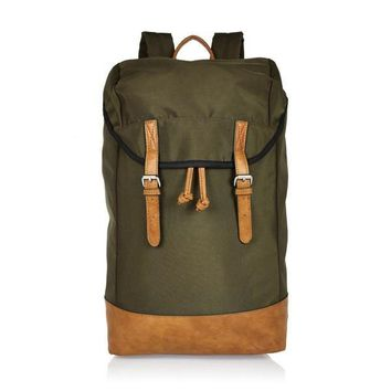 Olive and Tan Stap Backpack