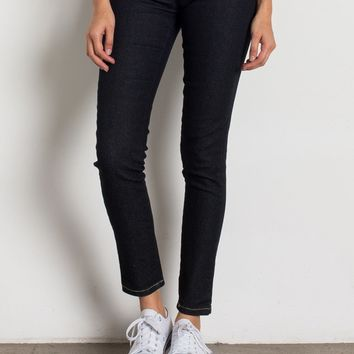 Solid Dark Jean Jeggings