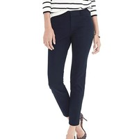 Sloan-Fit Solid Ankle Pant | Banana Republic