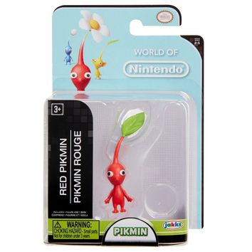 "Red Pikmin 2.5"" Mini Figure World of Nintendo NEW"