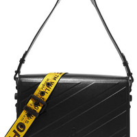 Off-White - Medium embossed leather shoulder bag