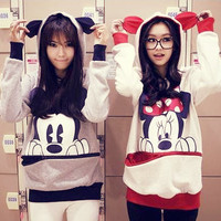 Mickey&Minnie Hoodies