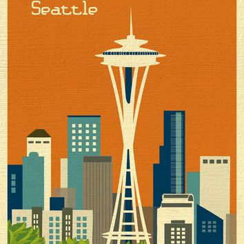 Sale of Seattle, Washington - Orange